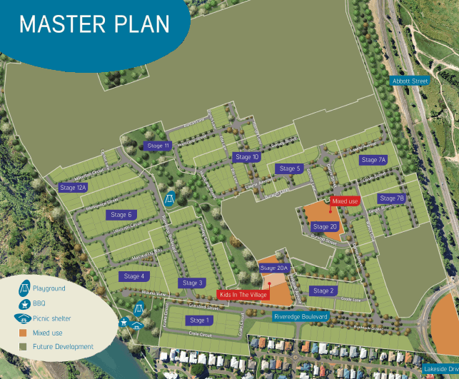 The Village masterplan