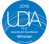 2016 Urban Development Institute of Australia (UDIA QLD) WINNER, Category: CEO's Award