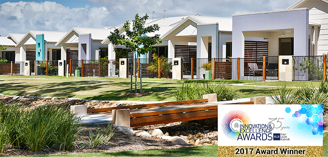 2017 Property Council of Australia, WINNER, Category: Affordable Housing