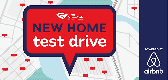 New home test drive