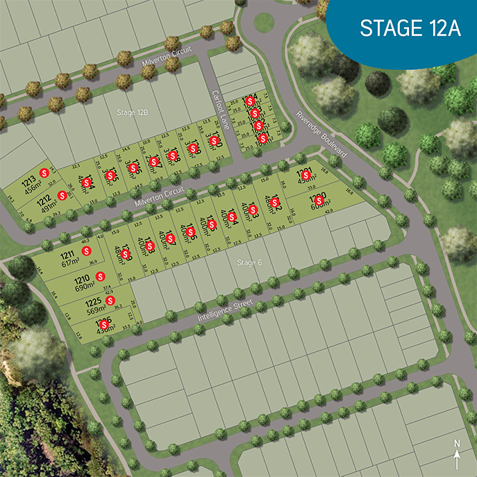Stage plan, stage 12 The Village